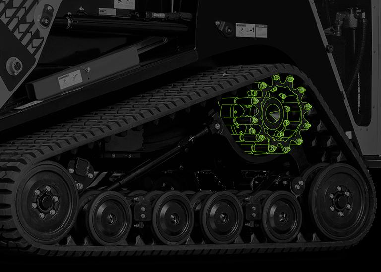 compact track loader tracks