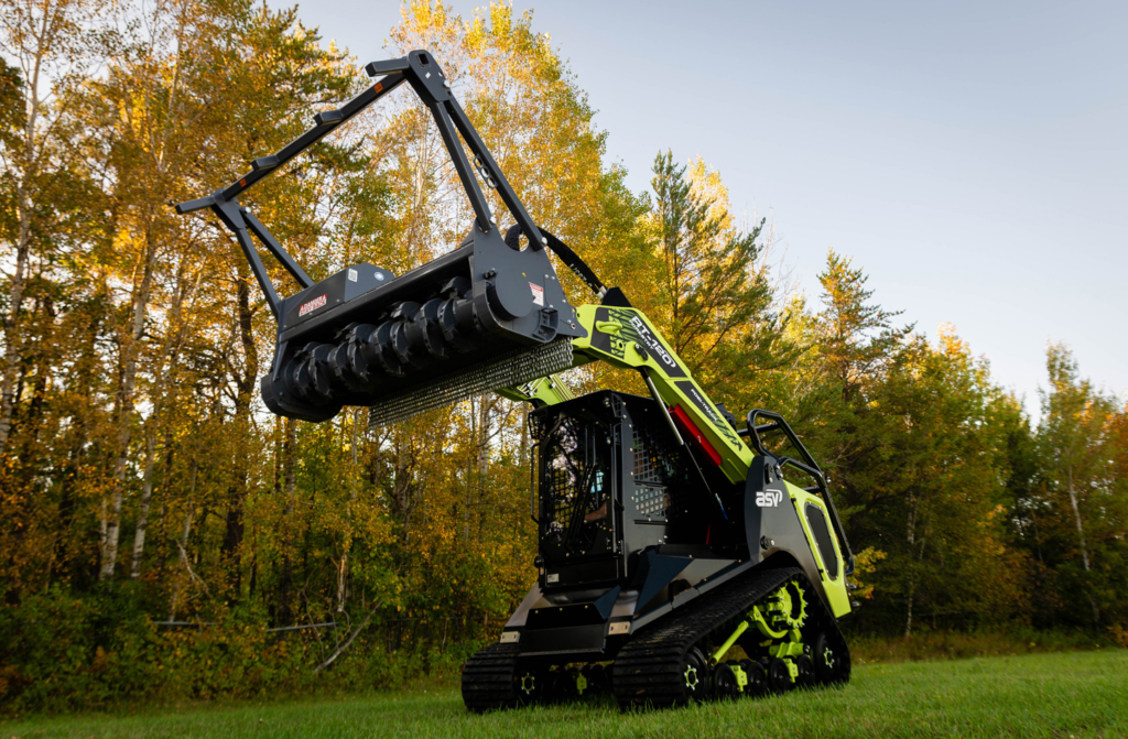 The Green Beast RT-120 Compact Track Loader