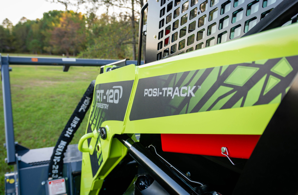 The Green Beast RT-120 Posi-Track Compact Track Loader