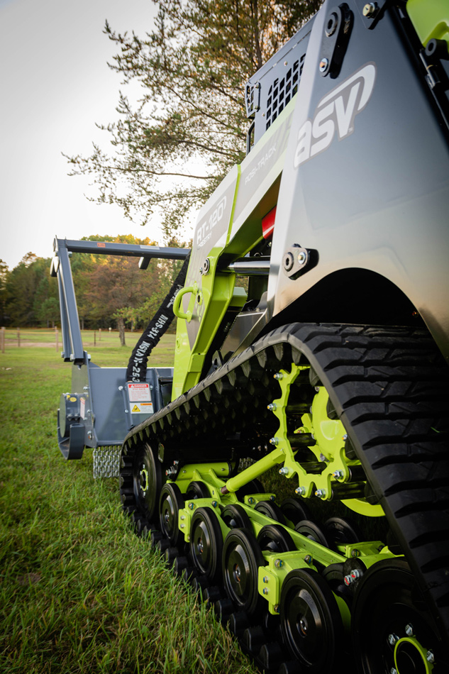 RT-120 Compact Track Loader The Green Beast